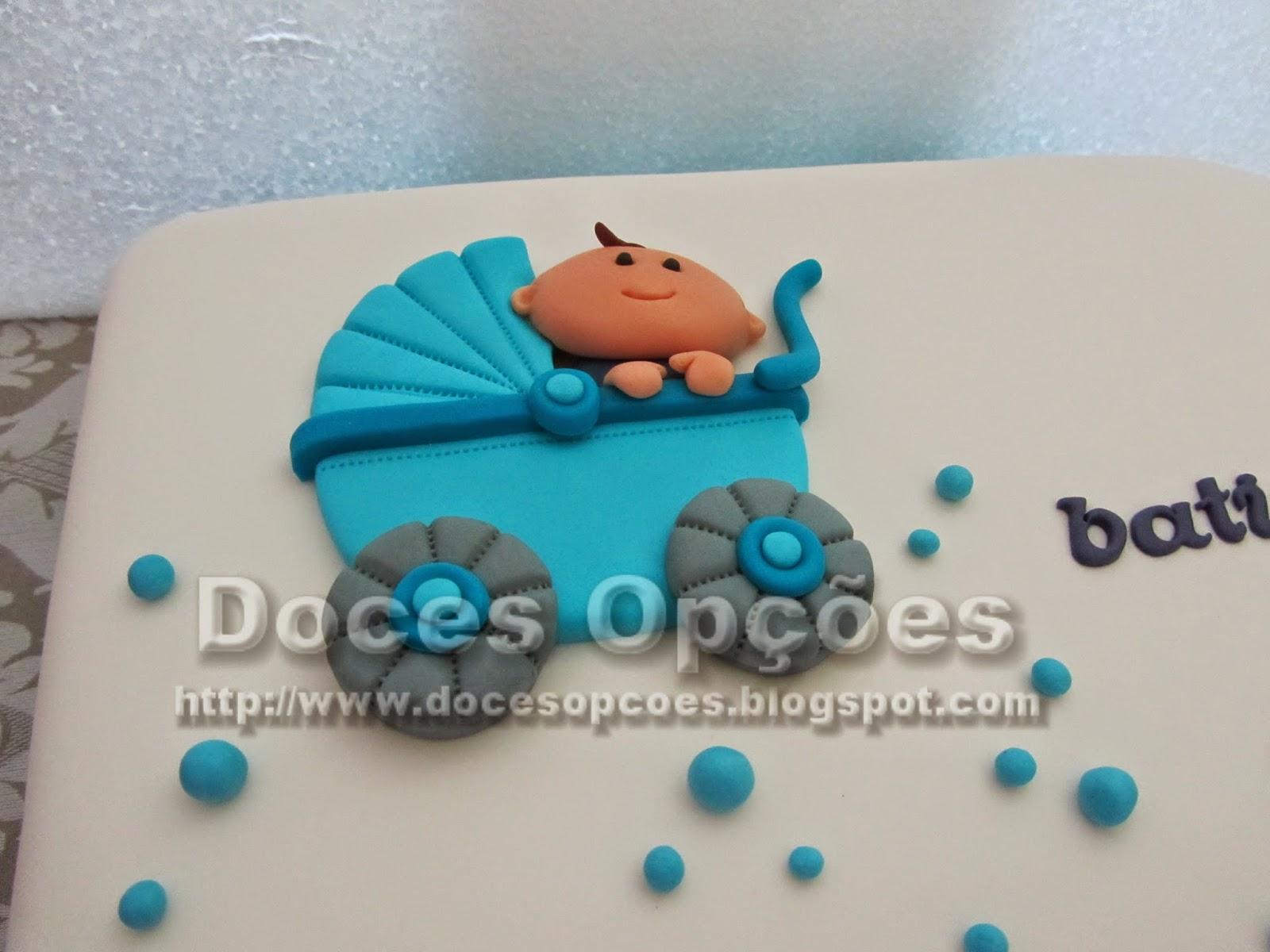 bolo carinho de bebé