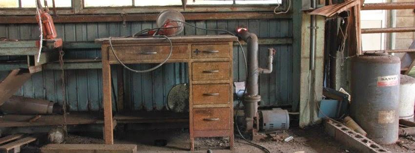 仮 加茂鉄の工場