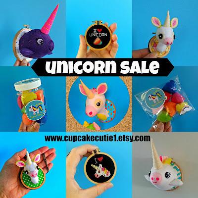 A random Unicorn Sale….20% off