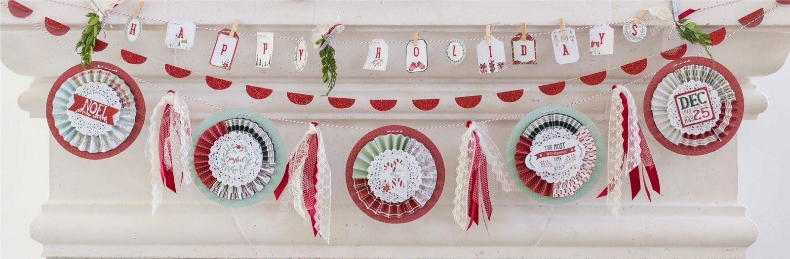 The Blog: My Mind39;s Eye Christmas on Market Street and Cozy Christmas