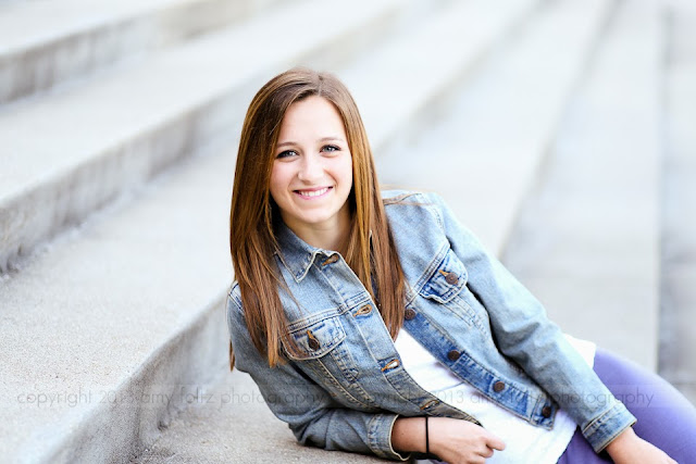 senior girl - Terre Haute photographer