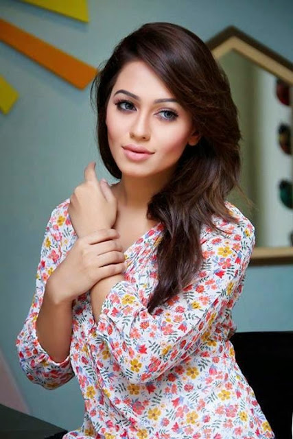 Bangladeshi model actress Nusraat Faria Mazhar