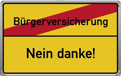 Logo der Initiative Bürgerversicherung - Nein Danke!