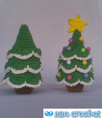 Amigurumi Neko Atsume Pattern : Amigurumi Christmas Tree ~ Zan Crochet