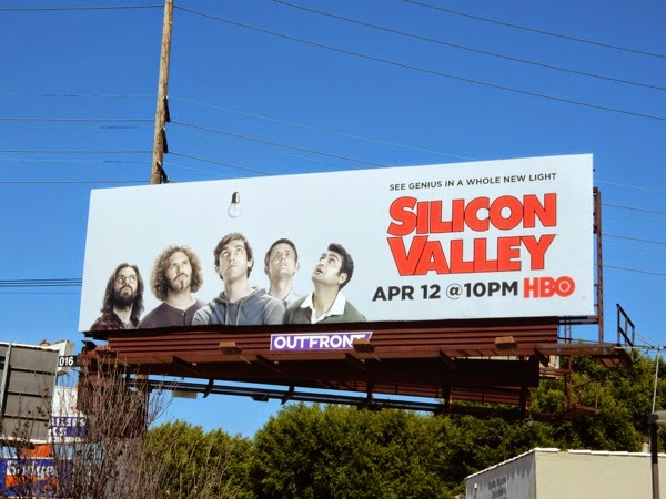Silicon Valley series 2 billboard