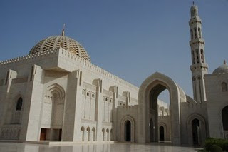 The Grand Mosque of  Sultan Qaboos , Muscat, Oman