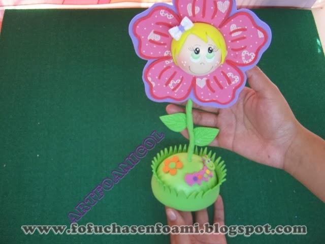 Manualidades y Moldes Yonaimy Facebook - Imagenes De Moldes De Flores En Foami
