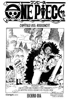 One Piece 855 Mangá Português leitura onlne
