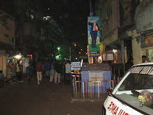 The By-lanes of Kamatipura at night.