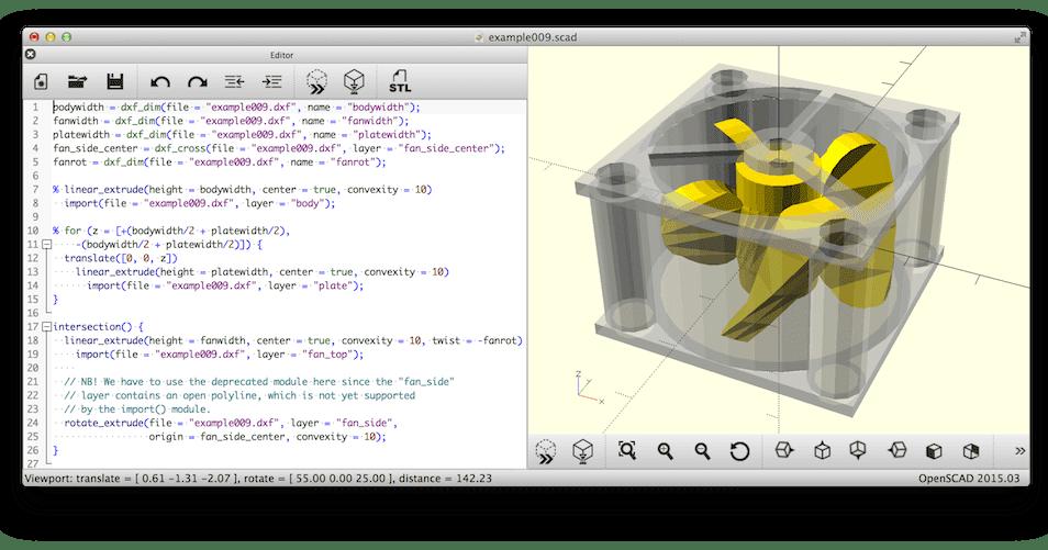 Openscad Um Modelador De Cad 3d Para Linux Diolinux O