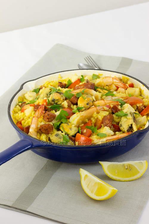 西班牙海鮮飯 Paella01