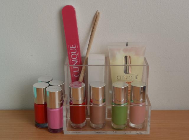 Clinique pop up nail bar, Selfridges London, Free manicure, Clinique a different nail enamel for sensitive skins