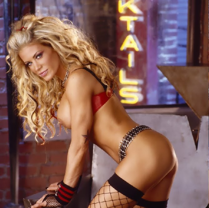 Wrestler ashley nude in playboy 2008