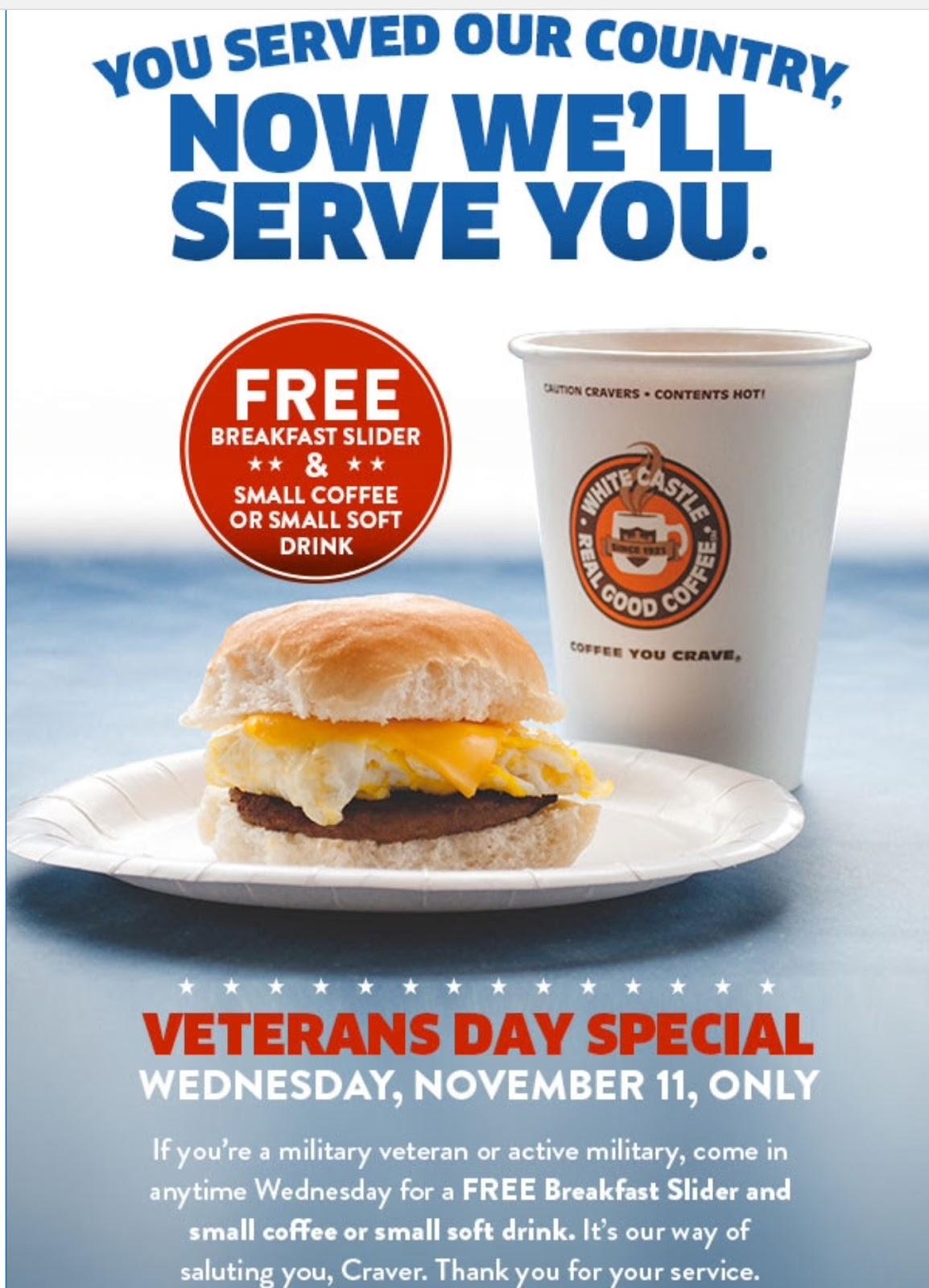 Free Veterans Day Meals Daytona Beach Fl