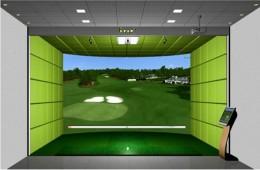 Golf simulator price for Golf simulator room dimensions