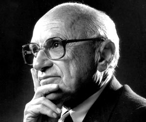 the free maket capitalism of milton friedman If you follow any free-market affiliated page on facebook or twitter, you have certainly seen a quote from the milton friedman the nobel prize winner was not only an award-winning economist but a very well-spoken man.