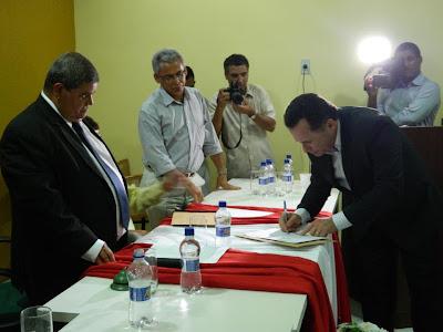Diplomação dos candidatos eleitos no pleito 2012 em Panelas PE
