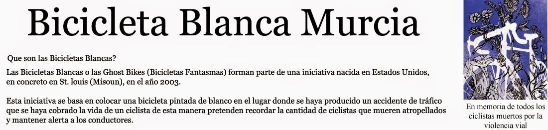 Bicicleta Blanca Murcia