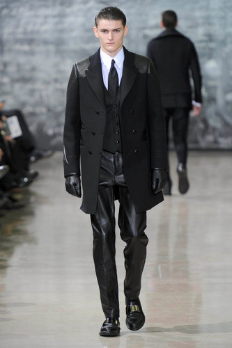 Yves Saint Laurent men fall 2012