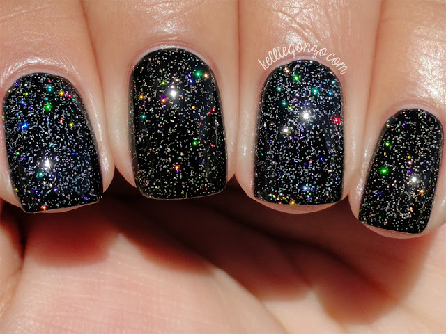 Nine Zero Lacquer Sparkle All The Things!! duo