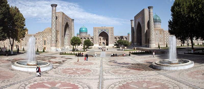 Pesona Samarkand