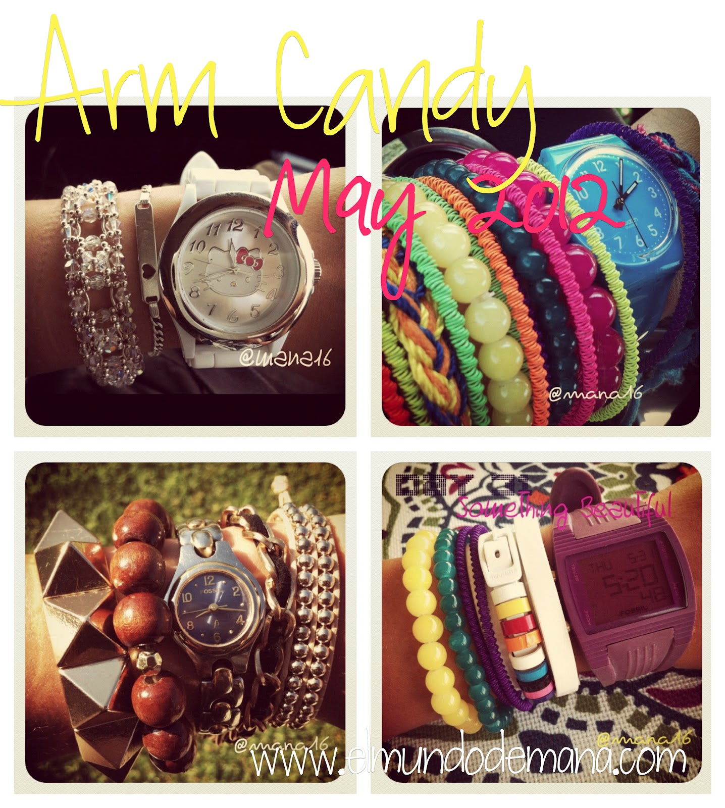 Instagram: Arm Candy Mayo 2012