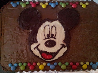 mickey mouse de chocolate