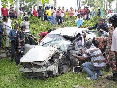 kemalangan ngeri Proton BLM