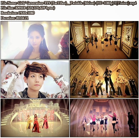 MV Girls' Generation-TTS (소녀시대-태티서 / TaeTiSeo) - Twinkle (Melon Full HD 1080p)