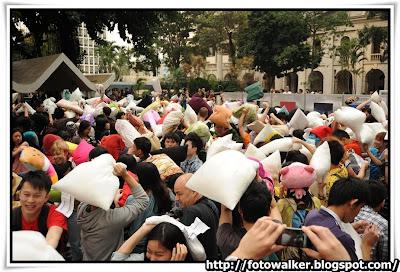 國際香港枕頭大戰日2012
