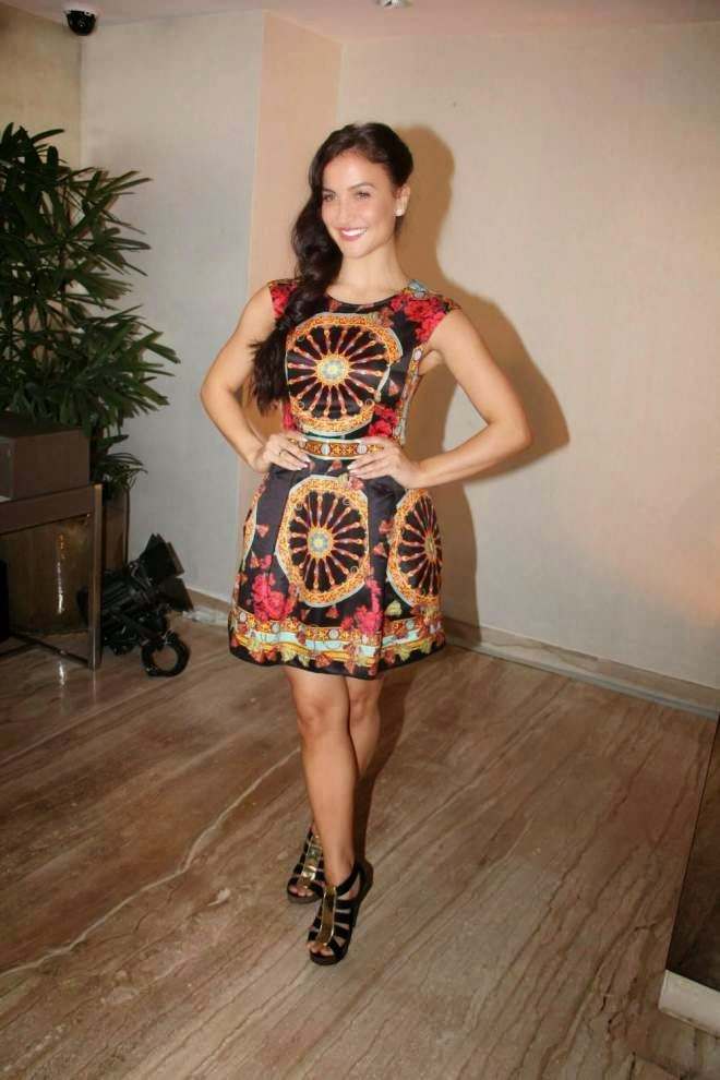 Elli Avram Thunder Thigh Show Pics Mini Short Dress