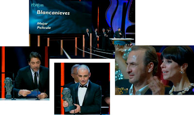 Goya a la mejor película, Blancanieves