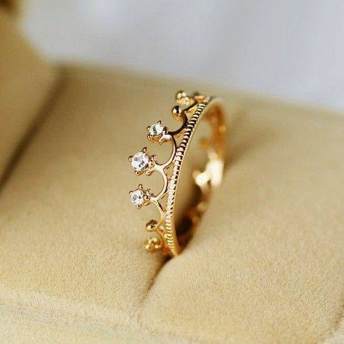 most beautiful crown rings for b g fashion