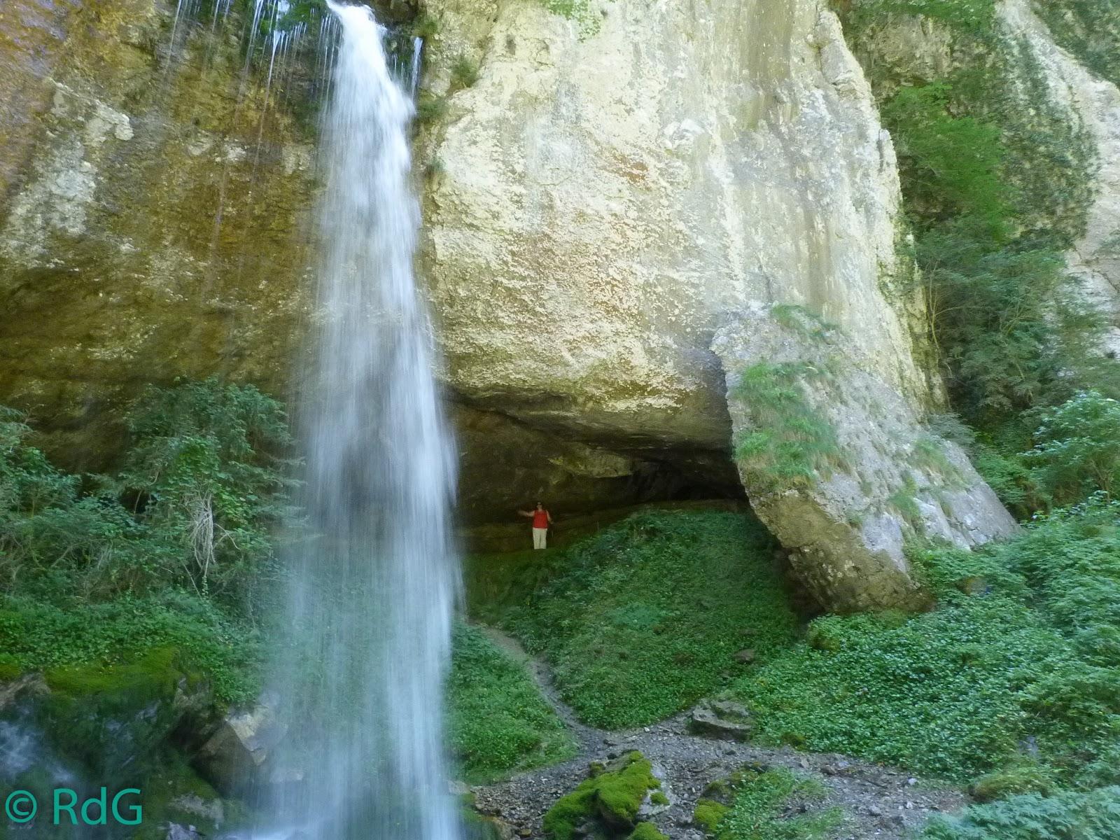 Mis viajes por francia gorges de kakueta for Cascada par