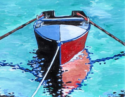 colorful boat art