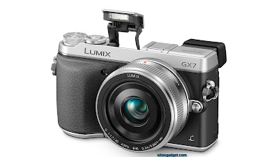 New Panasonic Lumix DMC GX7, new mirrorless camera, digital camera
