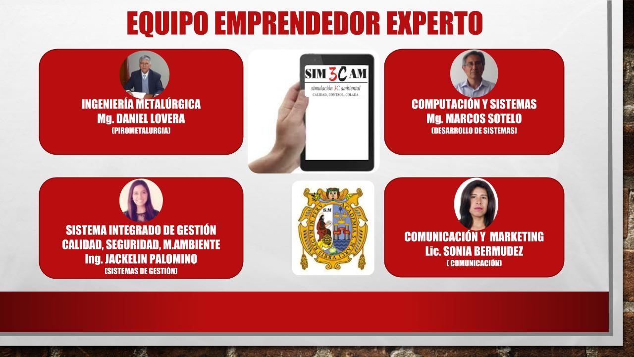 NACE SIM3CAM EMPRENDIMIENTO INNOVADOR EN 1551 INCUBADORA DE EMPRESAS INNOVADORAS UNMSM