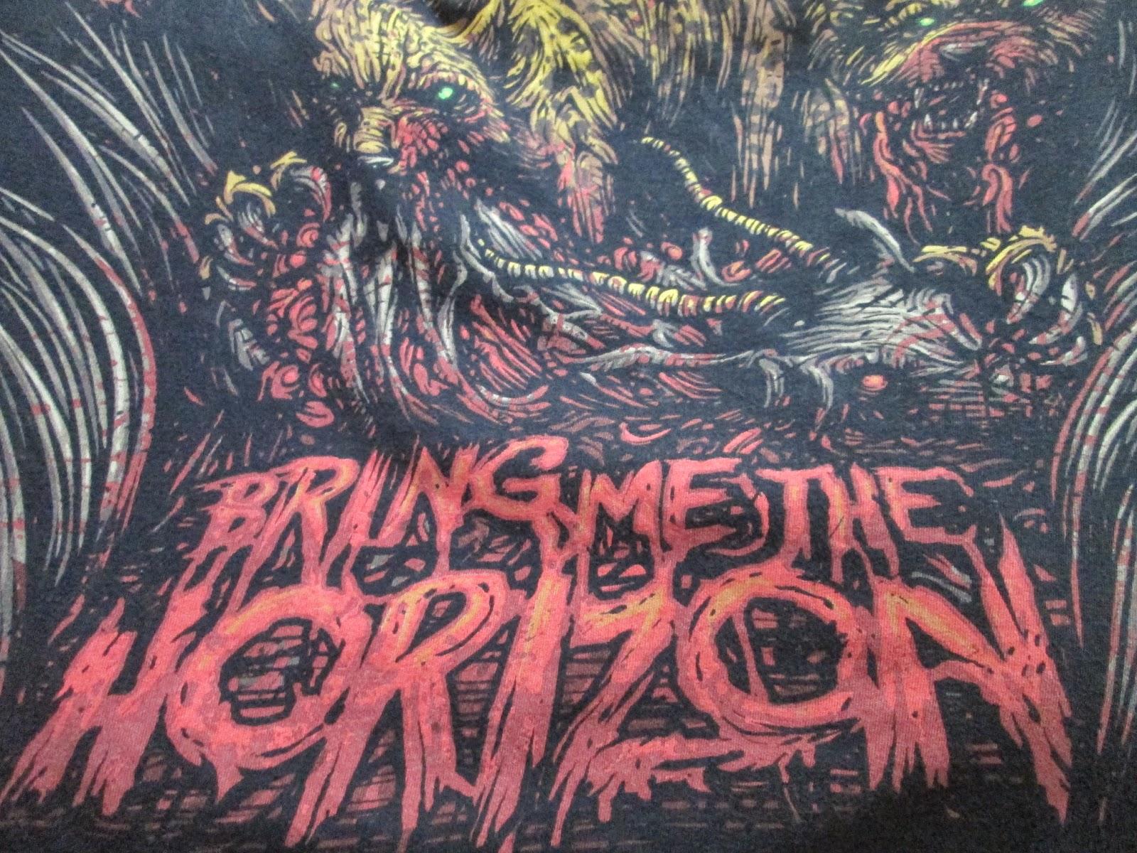 Bring me the horizon shirt 2014