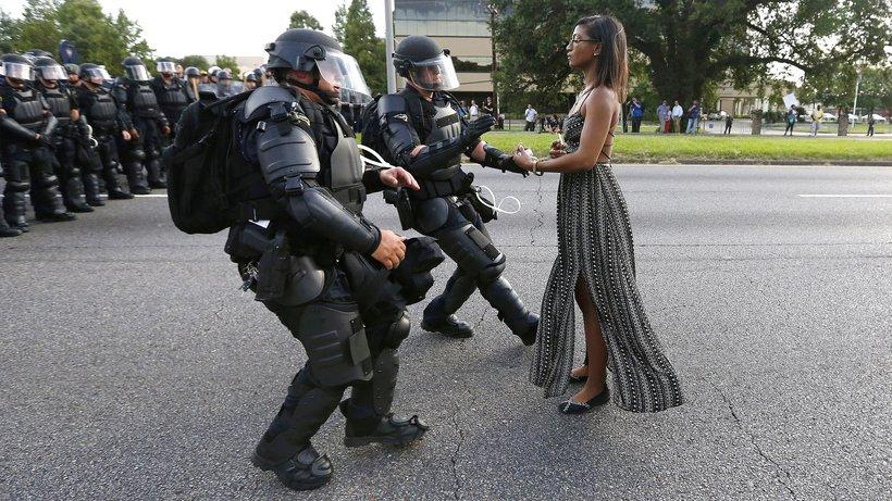 Vorbild Superwoman - oder einfach eine mutige Frau