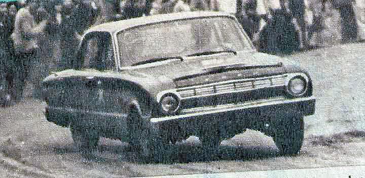 20 de setiembre, 1964 / DEBUTABA EL FORD FALCON EN TC