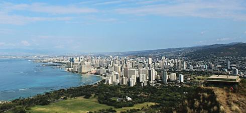 honolulu diamond head hike oahu hawaii hiking