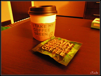 Rainforest Green Coffee at Embassy Suites