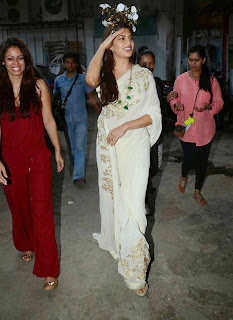 Jacqueline Fernandez Saree Stills at Sahiba Ltd Ad Shoot 1