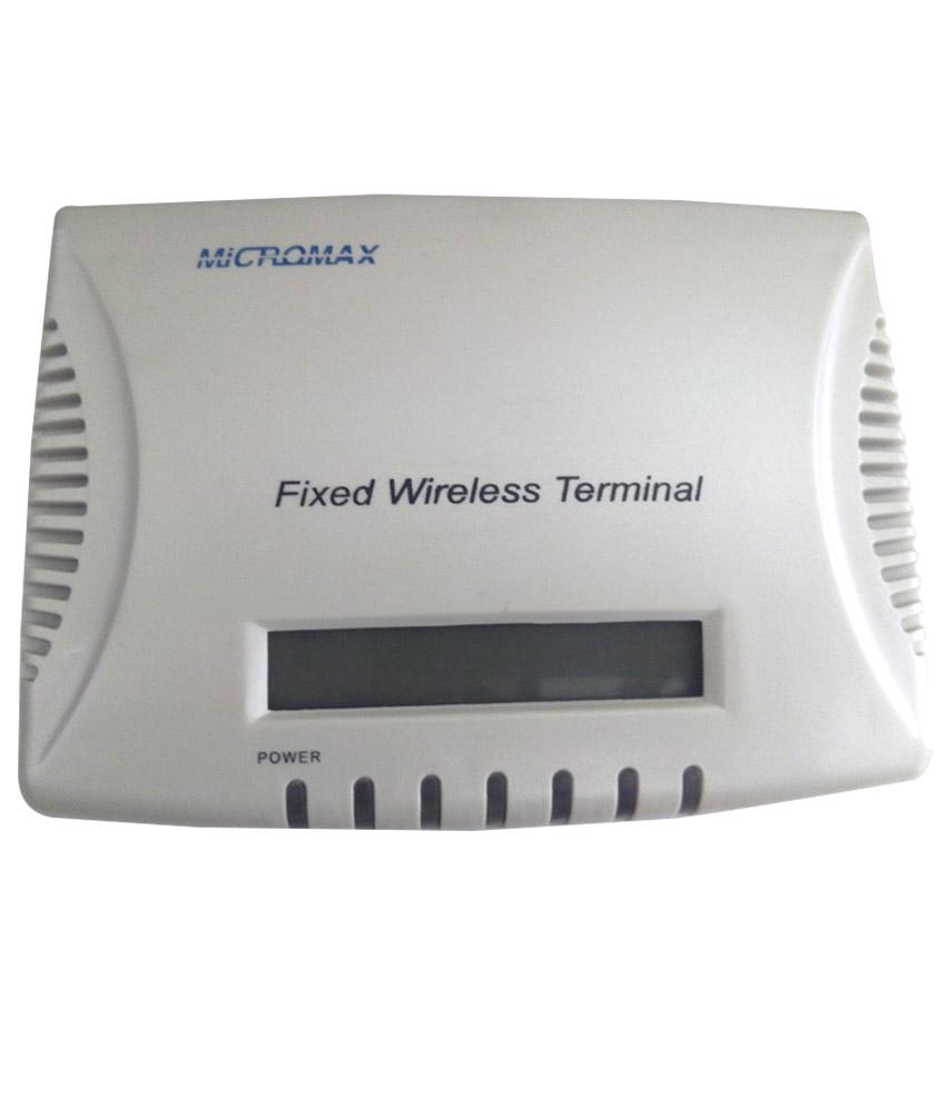 MICROMAX FIXED WIRELESS TERMINAL @1600/-