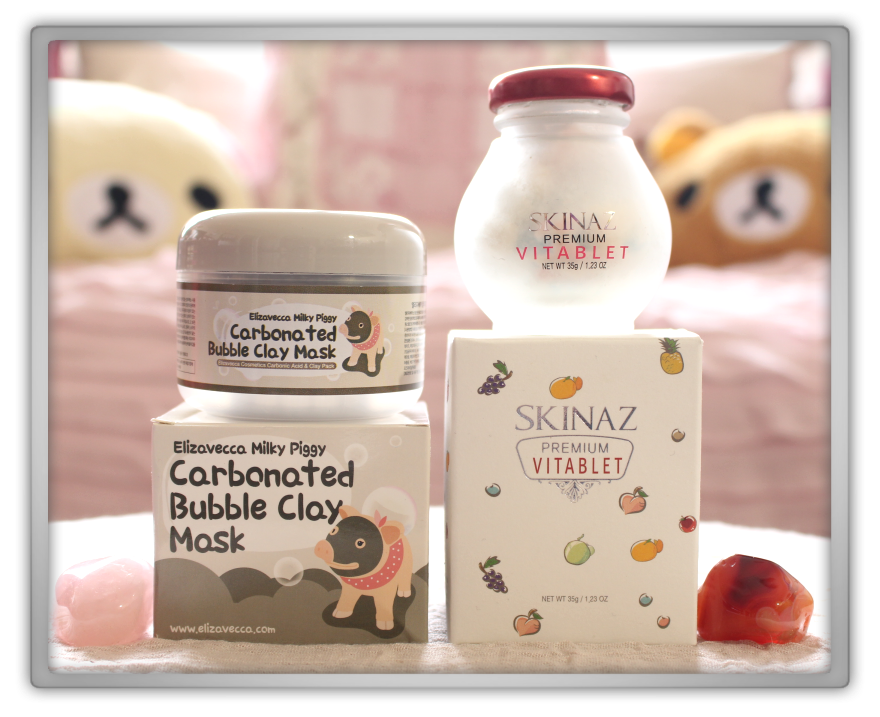 겟잇뷰티박스 by 미미박스 memebox beautybox # special #16 omg box unboxing review preview Elizavecca milky piggy corbonated bubble clay mask skinaz premium vitablet