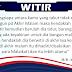 [INFO ISLAM] : WAKTU SOLAT WITIR