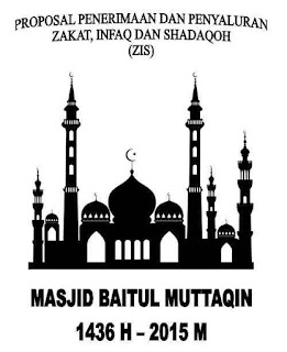 Proposal Zakat, Infaq dan Shodaqoh Ramadhan 1436H
