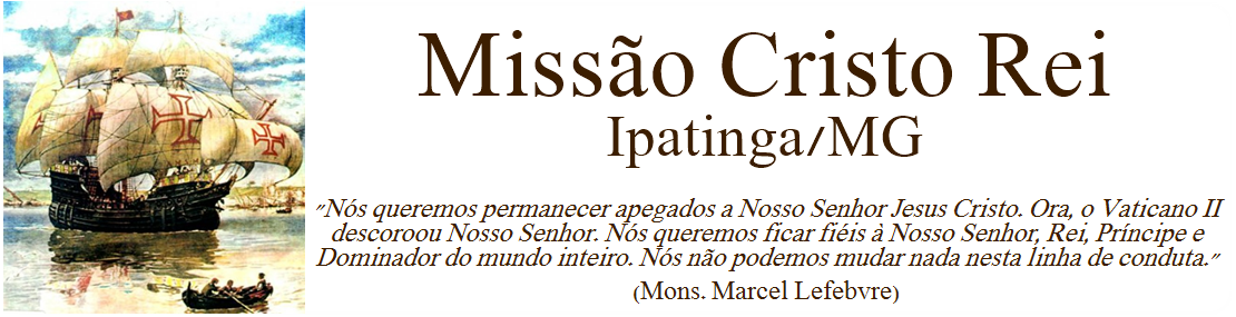 Missão Cristo Rei - Ipatinga/MG