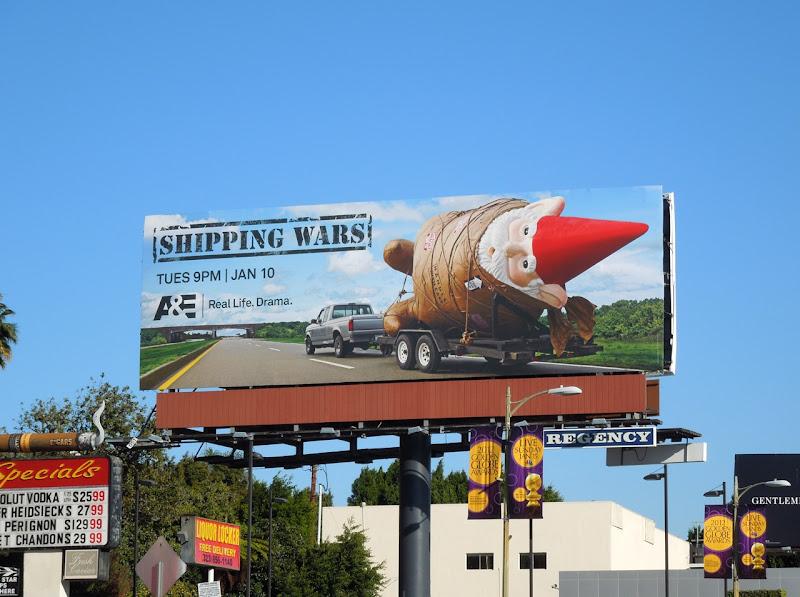 Shipping Wars Gnome billboard