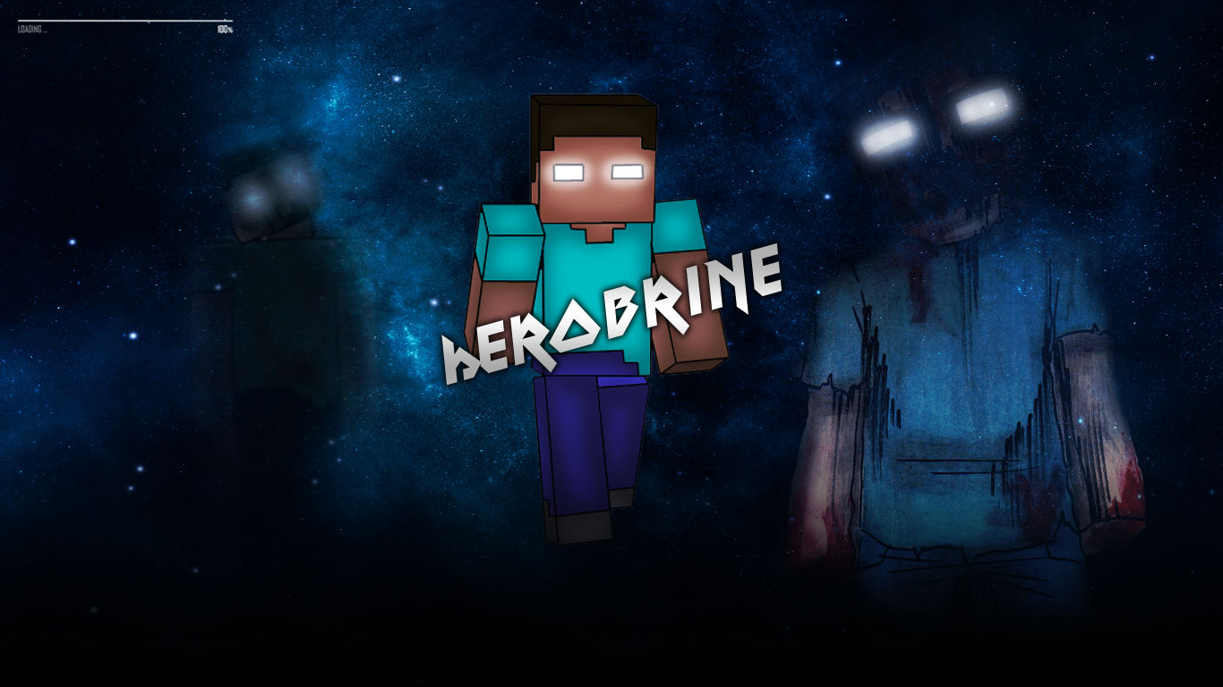 Minecraft Herobrine Wallpapers Hd